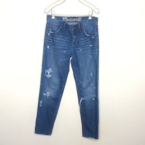 MADEWELL Distressed Boyfriend Jeans   24